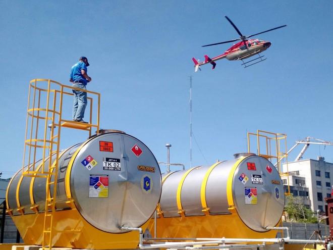 Tanques depósitos de Combustible