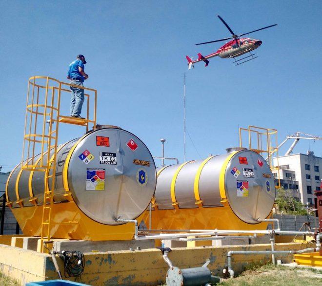 Planta de Combustible Area - Policia Federal