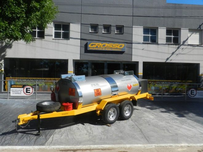 Trailers para transporte de Combustible